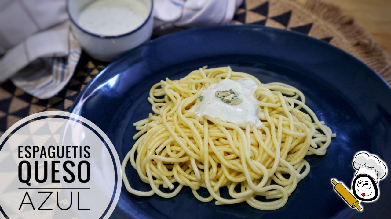 Cómo hacer la receta de espaguetis con queso azul en Mambo de Cecotec