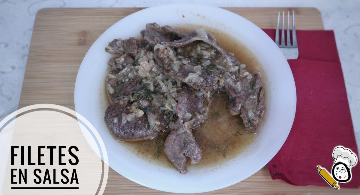 Como hacer la receta de filetes de ternera en salsa
