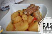 Cómo hacer la receta casera de guiso de patatas casera
