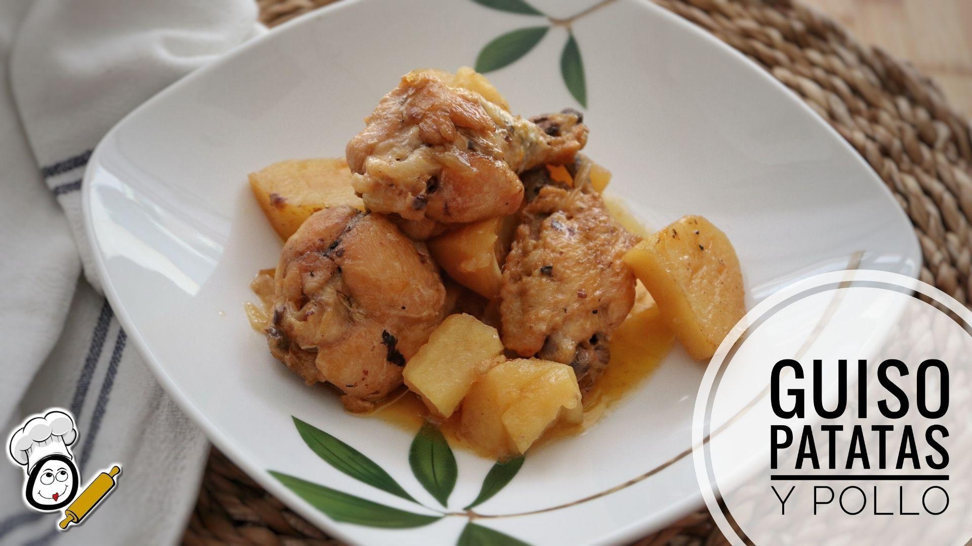 Cómo hacer la receta de guiso de patatas con pollo en la Olla Gm