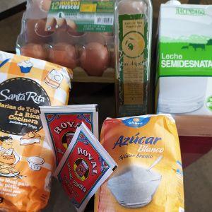 Los ingredientes necesarios para hacer las magdalenas clásicas con Mambo de Cecotec
