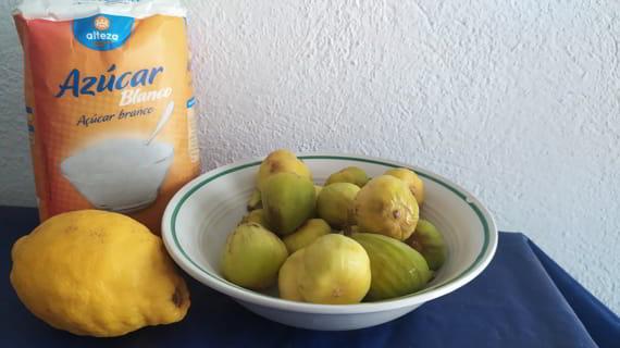 Los ingredientes necesarios para hacer mermelada de higo en Mambo