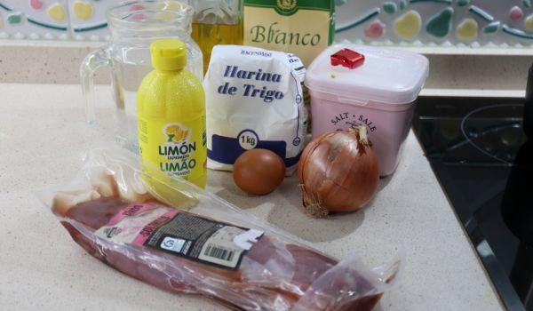 Los ingredientes necesarios para hacer solomillo al limón con Mambo Cecotec
