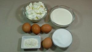 Los ingredientes necesarios para hacer la tara de queso