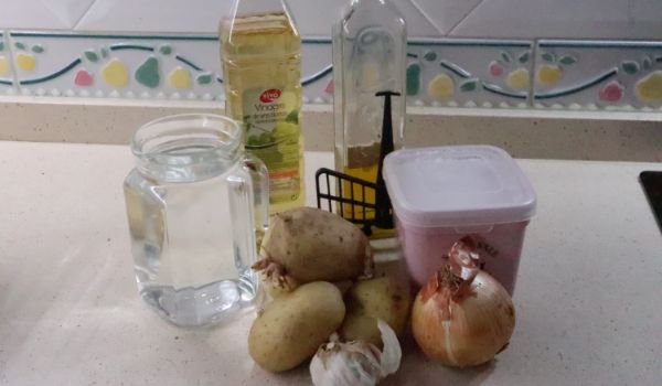Cómo hacer la receta de patatas para utilizar de guarnición