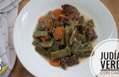Cómo hacer la receta de judías verdes con ternera