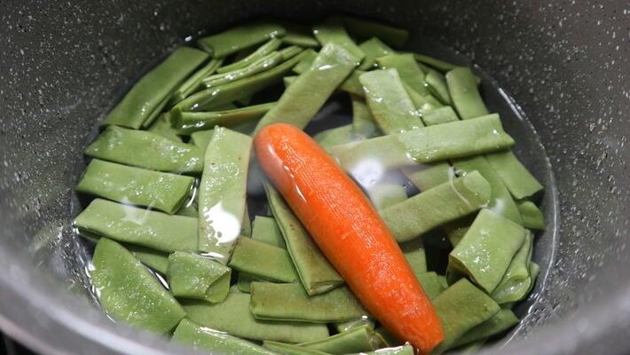 Cómo hacer judías verdes cocidas