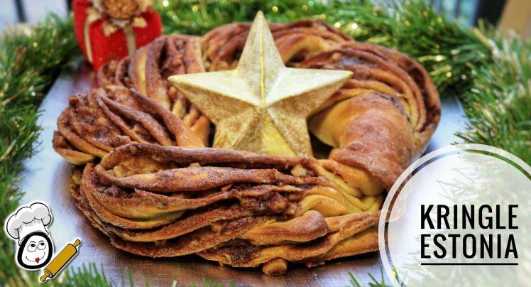 Cómo hacer la receta navideña de Kringle Estonia en Thermomix