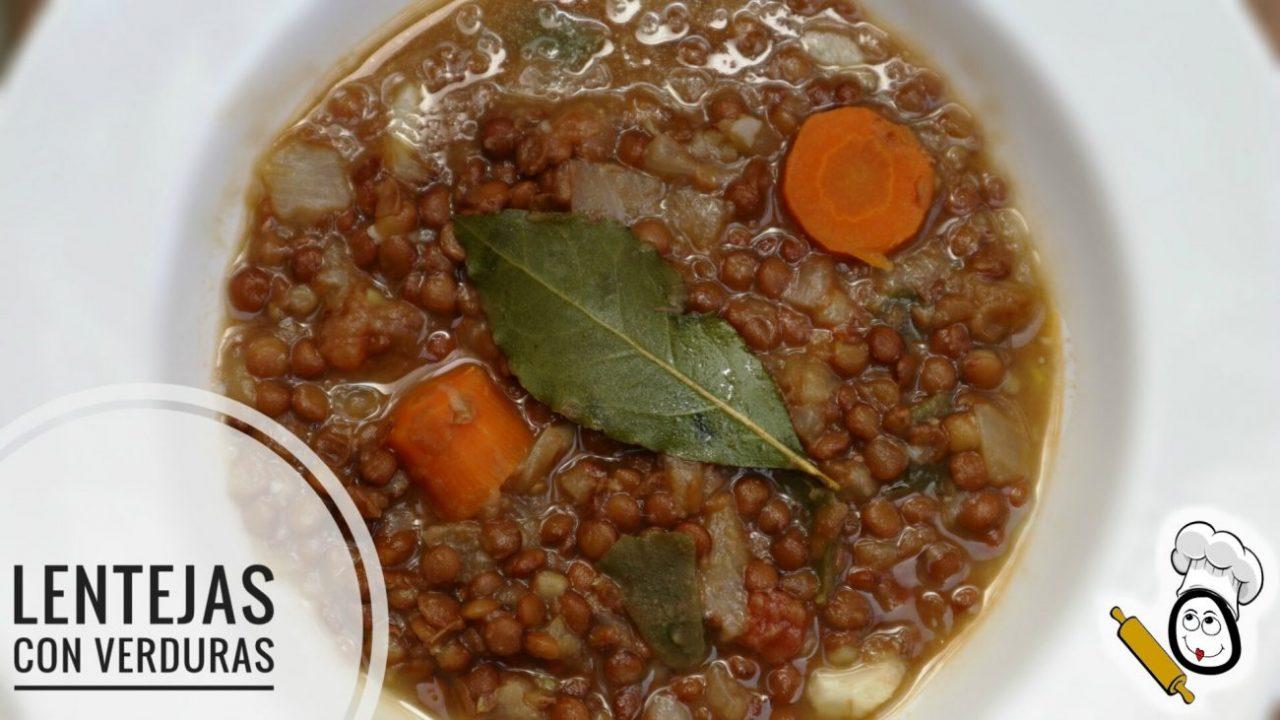 Lentejas con verduras hechas con el robot de cocina Mambo Cecotec