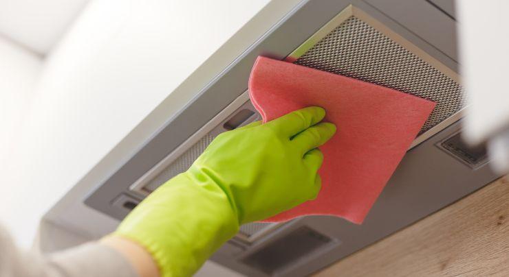 Los consejos para limpiar una campana extractora