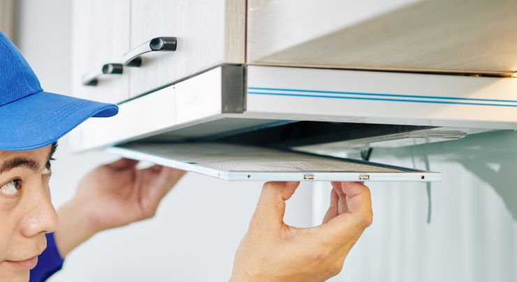 Cómo limpiar los filtros de una campana de cocina