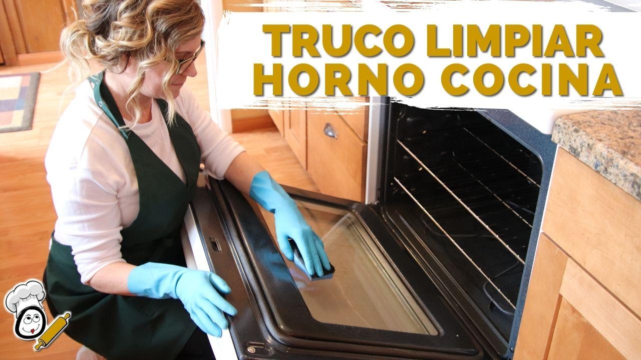 Los mejores trucos para limpiar el horno de cocina