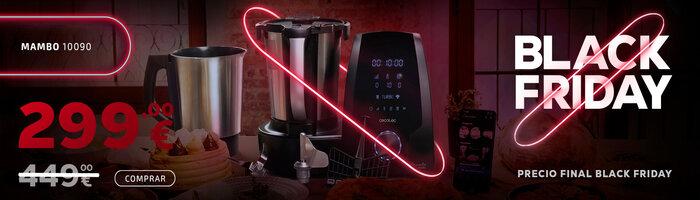 Oferta pael black friday robot de cocina de Cecotec