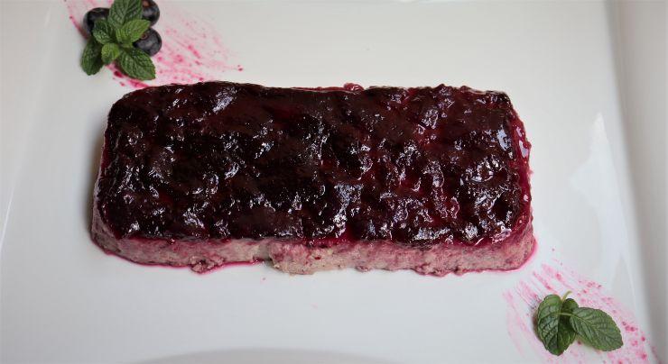 Cómo hacer con Mambo el pastel de pudín de arándanos con Mambo