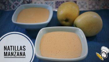 Como hacer la receta de natillas de manzana con Mambo