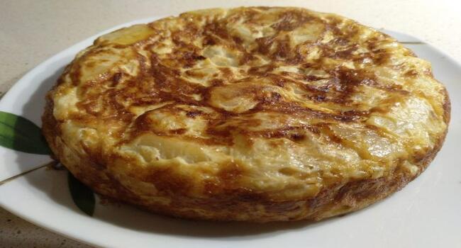 Ya tenemos lista la tortilla española en la Olla gm