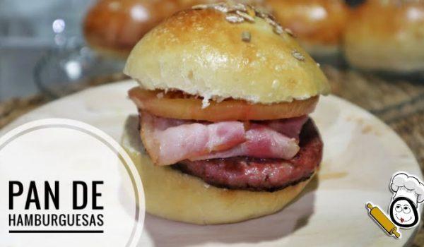 Hacer pan de Hamburguesa casero con el robot de cocina de Thermomix