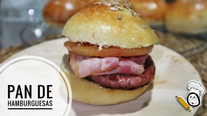 Pan de hamburguesa con Thermomix