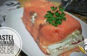 Cómo hacer el pastel de salmón casero con pan de molde