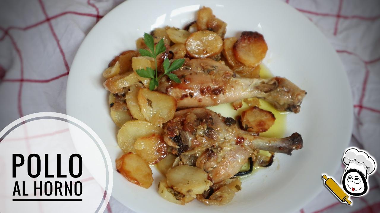 Cómo hacer la receta de pollo al horno jugoso casero