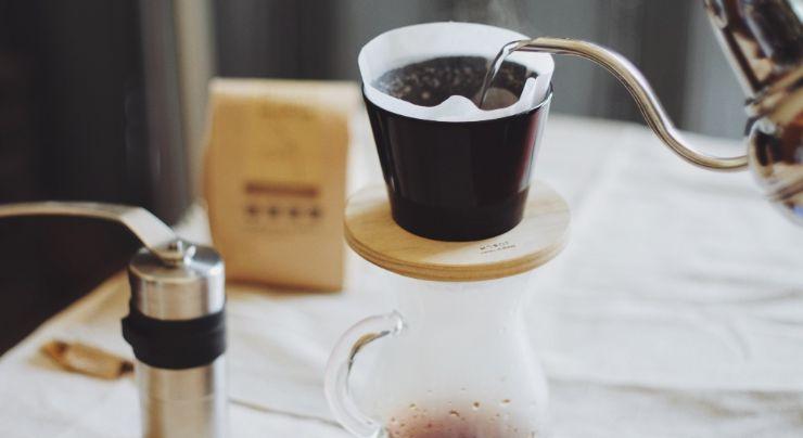 Eliminando la cafeína del café