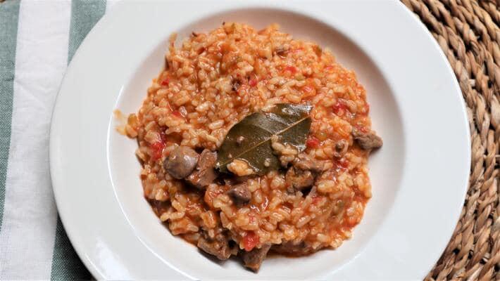 Receta casera de arroz con higaditos