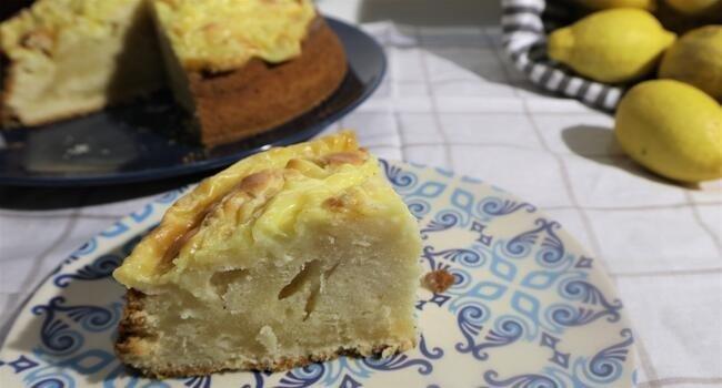 Ya tenemos listo el bizcocho de crema de limón y sabor limón en Mambo