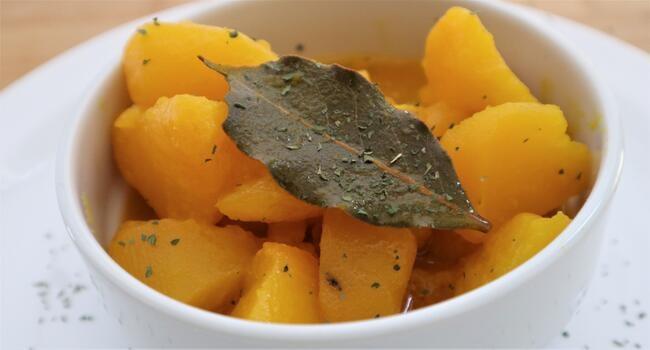 Receta de guiso de bacalao con patatas guisadas en Mambo