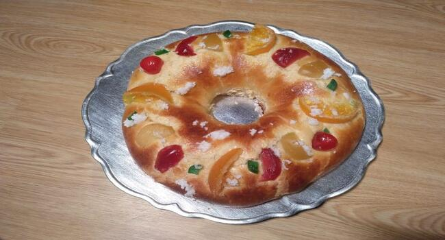 Receta de roscón de Reyes al estílo prado Camacho hecho casero