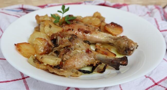 Cómo preparar asado de pollo al horno