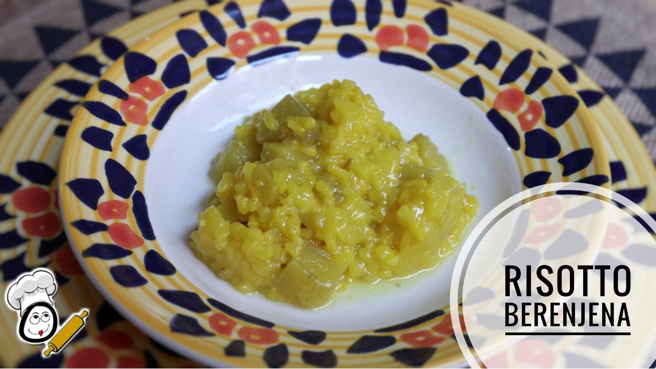 La receta casera de risotto con berenjenas