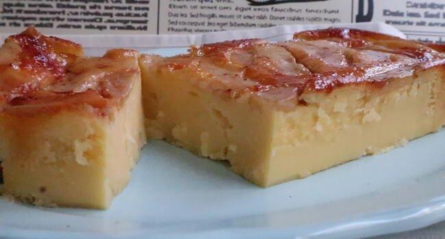 Receta de tarta o tatin de pera fácil
