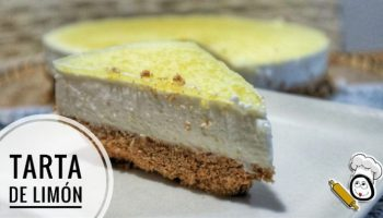 Tarta de limón con Mambo de Cecotec