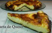 Tarta de queso fácil casera