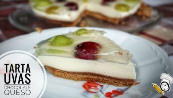 Como hacer la receta de la tarta de uvas y queso en Thermomix