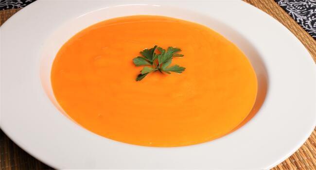 Thermomix cómo hacer la crema de zanahorias ligera