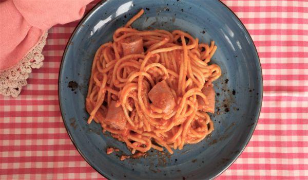Como hacer con Thermomix espaguetis integrales y carne