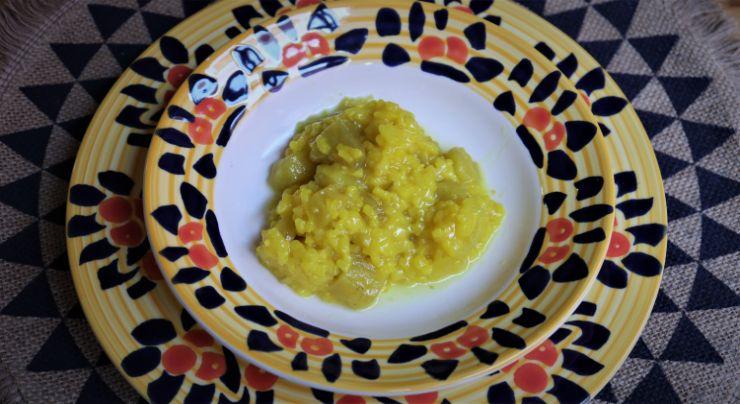 Hacer receta con Thermomix de arroz con berenjena