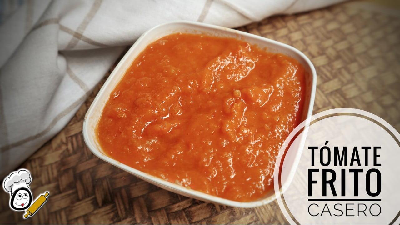 Hacer la receta fácil de tomate frito casero en Mambo Cecotec