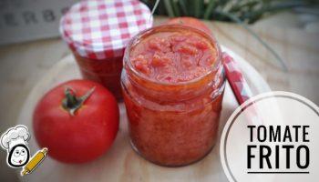 Receta de salsa de tomate frito con Thermomix