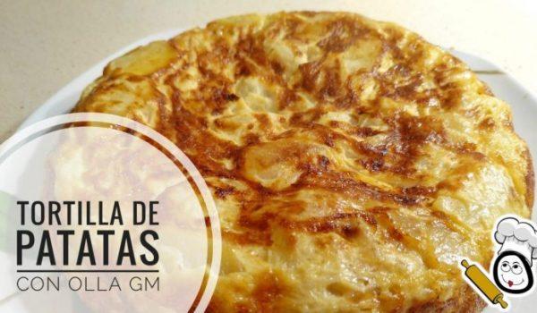 Cómo se hace la tortilla de patatas con la Olla Gm