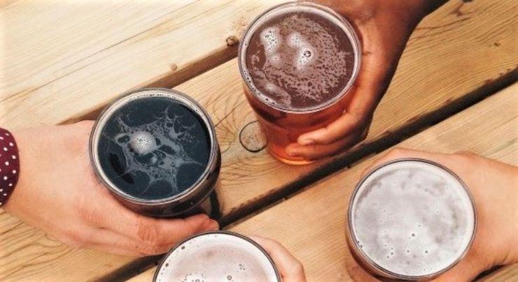 Todas las variedades de cervezas diferentes